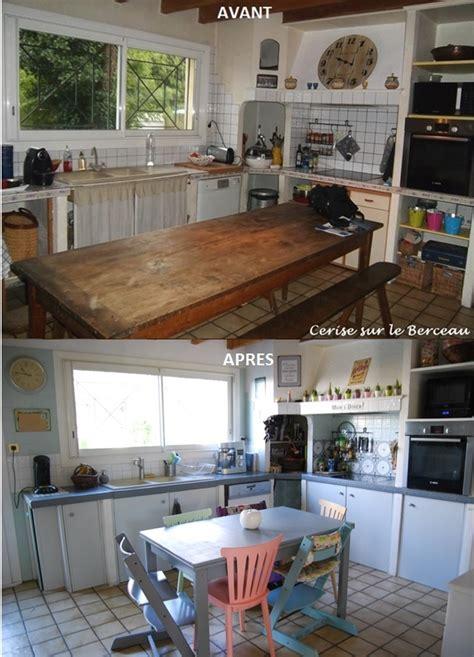 travaux cuisine travaux avant après rénover une vieille cuisine à