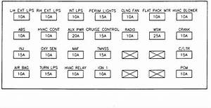Fuse Box Diagram 2001 Buick Lesabre Engine