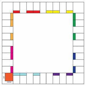Blank Board Game Box Template
