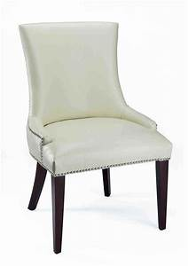 White leather dining room chairs home furniture design for White leather dining room chairs