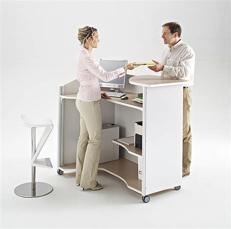 bureau comptoir accueil comptoir d accueil pas cher bureau d accueil pas cher