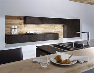 cuisine design ceramique et bois With cuisine bois design