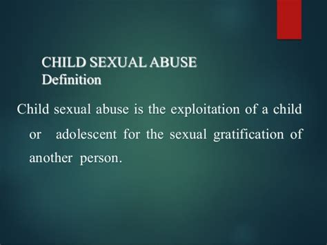 Child Abuse Presentation