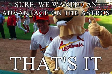 st louis cardinals hacking astros meme sports unbiased