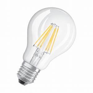 Ampoule Led E14 60w : osram ampoule led retrofit classic e27 6w 60w a ampoule led osram sur ~ Melissatoandfro.com Idées de Décoration