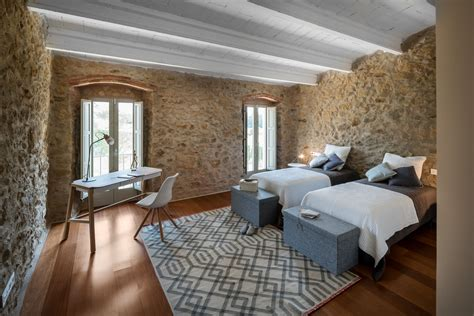 ancient stone manor transformed   rustic