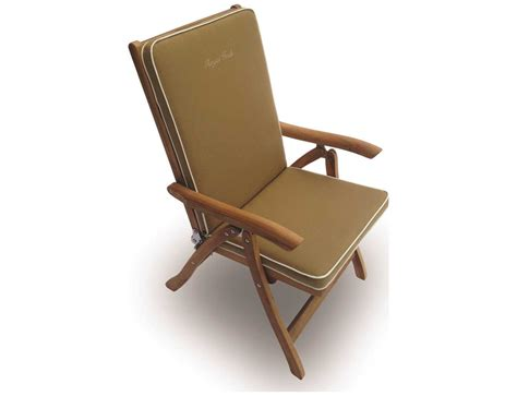 royal teak collection estate reclining lounge chair esfc
