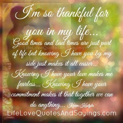 Grateful Have You My Life Quotes