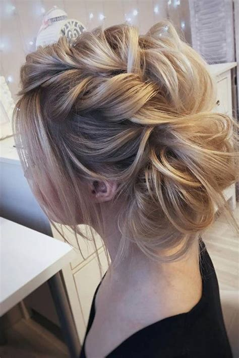Medium Updos Hairstyles by 27 Chic Updos For Medium Hair Prom Hair Medium
