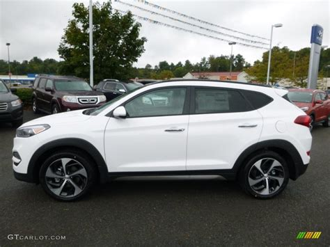 hyundai tucson 2016 white 2016 winter white hyundai tucson limited awd 107044073