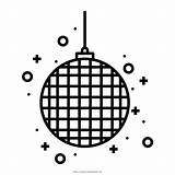 Disco Ball Coloring Prty Decoration Icon Ultra Iconfinder sketch template