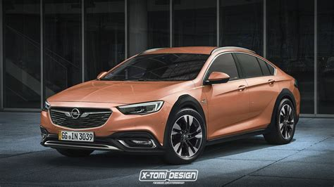 Opel Insignia Country Tourer Sedan Is The S60 Cross