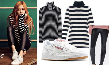 FAB FASHION FRIDAY BLACKPINK Style With REEBOKu0026#39;s CLUB C Sneakers u2022 Kpopmap - Global Hallyu ...