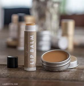 handmade organic lip balm With diy lip balm labels