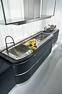 Idee cuisine avec ilot perspective mouvement lumiere for Idee deco cuisine avec ilot cuisine gris