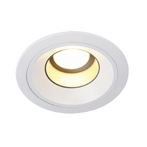 lichtkaufhaus de 187 led recessed ceiling light leddisk horn