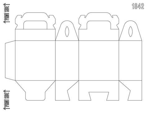 Treat Favor Box Template by Diy Customizable Matte White Gable Box Favor Box Zūmibox