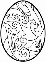 Easter Egg Coloring Pages Printable Hard Colouring Adults Eggs Sheets Dragon Curlicue Patterns Sheet Designs Colors Pattern sketch template