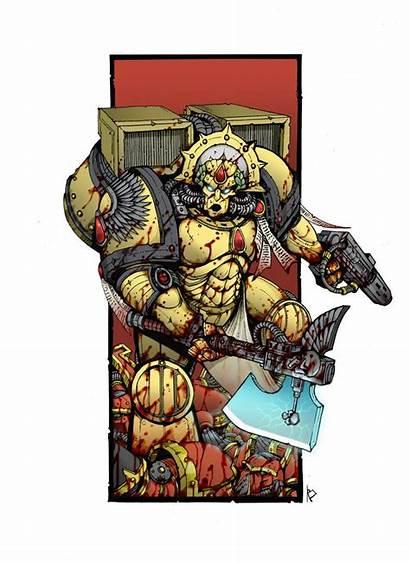 Dante Warhammer 40k Blood Angels Deviantart Chapter