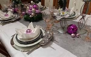 Deco Table Rose Et Gris : deco table de noel gris et blanc ~ Melissatoandfro.com Idées de Décoration