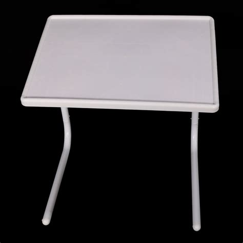 pcs white bed sofa table smart companion foldable folding adjustable tray ebay