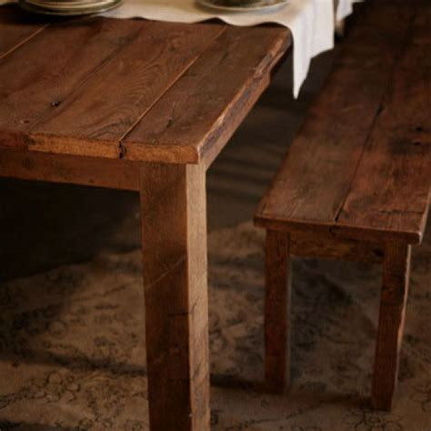 reclaimed wood antique pine farmhouse table ships