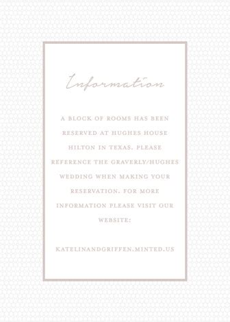botanical garden letterpress directions cards  kaydi