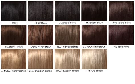 Dark Brown Color Chart For Hair
