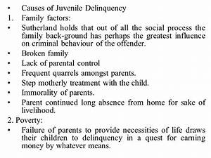 Lecture- 7 Juvenile Delinquency. - ppt video online download