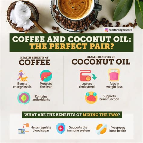 As many as 50 percent of the fatty acids found in coconut oil is lauric acid, which is widely obtained indeed, here are the health benefits of coconut oil in coffee for your beauty tricks. The perfect pair? | Coffee health benefits, Coconut coffee, Coconut oil