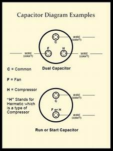 Start  Run Combo Capacitors In 6hp Marathon 1ph Motor