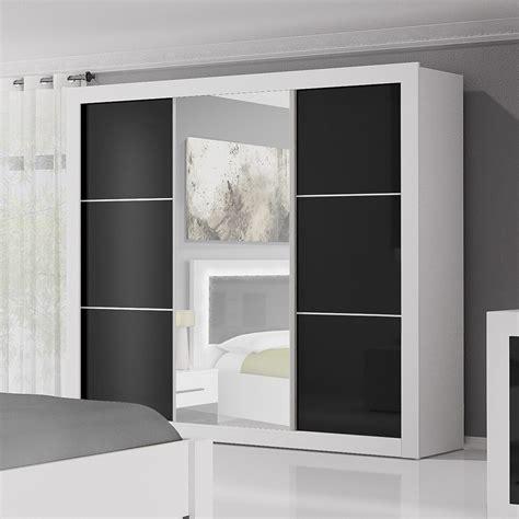 armoire de chambre blanche armoire chambre porte coulissante