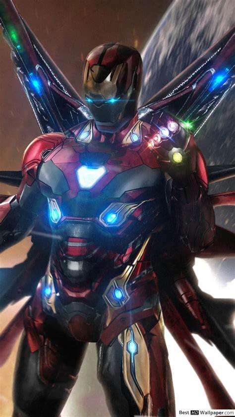 avengers endgame iron man infinity stones hd tapet