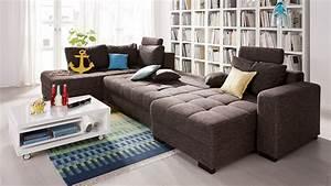 L Couch Grau : couch grau meliert mbel sofas kant sofa sitzer l cm stoff with couch grau meliert interesting ~ Orissabook.com Haus und Dekorationen