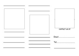 Leaflet Writing Frame By Joanna81e  Teaching Resources