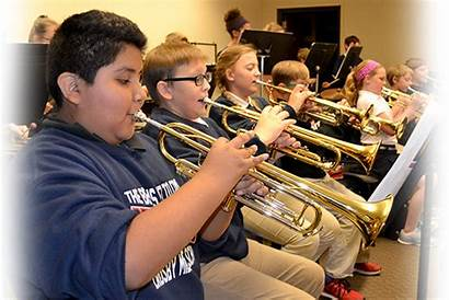 Band Middle Crosby Jefferson Programs Students Playing