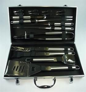 Koffer Set Test : 17 teiliges grillbesteck set alu koffer von bbq test ~ Jslefanu.com Haus und Dekorationen