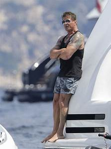 Sylvester Stallone And Family Take Luxury Yacht Vacation