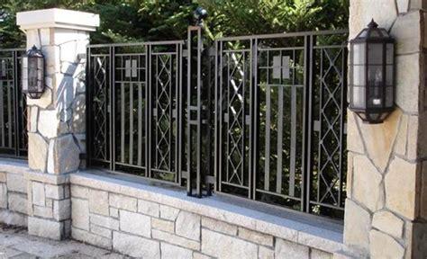 gambar model pagar besi minimalis terbaru