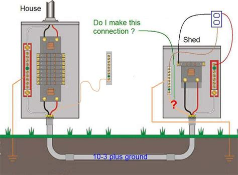 Wiring Diagram House To Shed by Ot One Last Shed Wiring Question Yesterday S Tractors