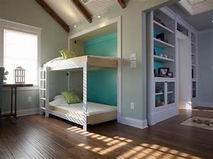 How to Build a Side-Fold Murphy Bunk Bed how-tos DIY