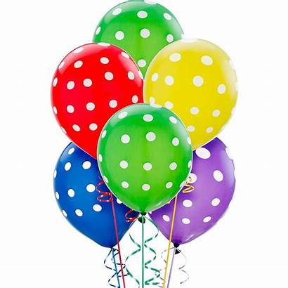 Balloons Polka Dot Primary 20ct Dots Party