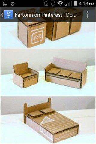 Möbel Aus Pappe Selber Machen by M 246 Bel F 252 R Tiere Basteln Karton Puppenhaus Diy