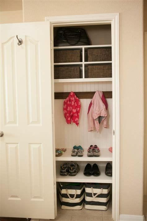 Front Closet Organization Ideas by Best 25 Small Coat Closet Ideas On Front