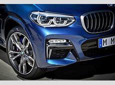2018 BMW X3 Revealed with PerformanceOriented M40i Trim