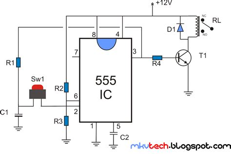 Latching Relay Using Timer
