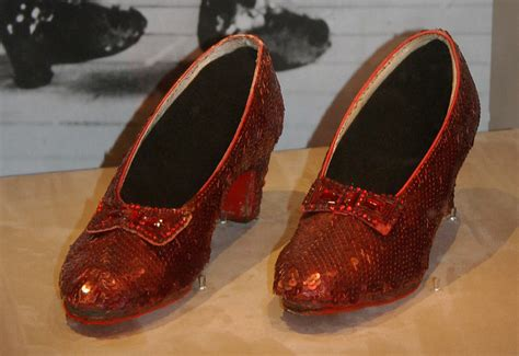 oz wizard shoes slippers silver ruby dorothy film they slipper