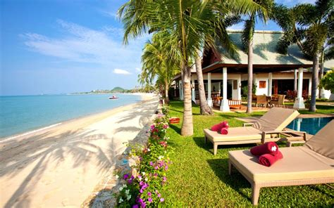 harmonie cuisine thailande location vacances villa koh samui maenam