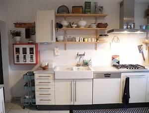 Weiße Regale Ikea : wei e k che ~ Michelbontemps.com Haus und Dekorationen