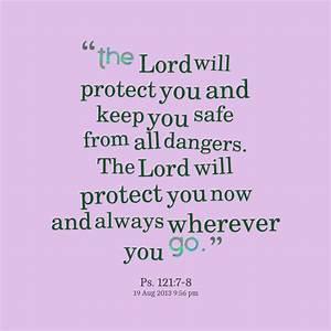 May God Keep Yo... Besafe Quotes